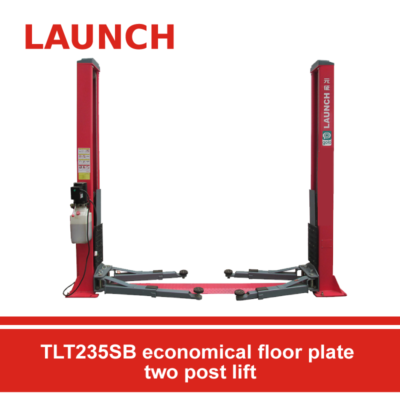 TLT235SB-economical-floor-plate-two-post-lift