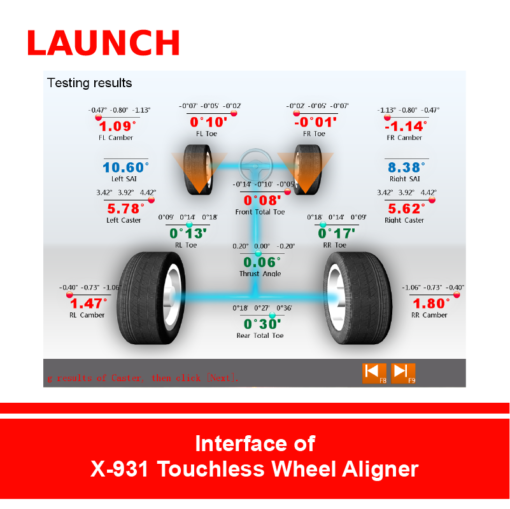X-931 Touchless Wheel Aligner (3)